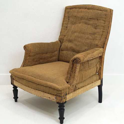 A 19th Century French Napoleon III Armchair