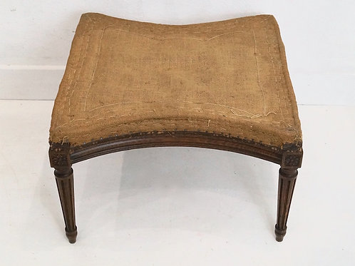 Fabulous Antique French Louis XVI Footstool