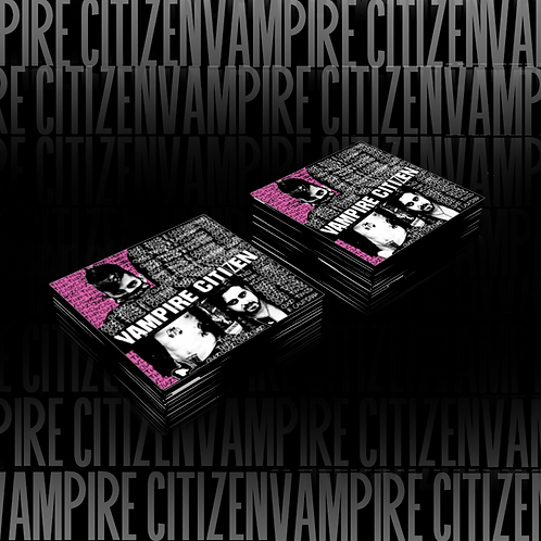 Vampire Citizen Sticker