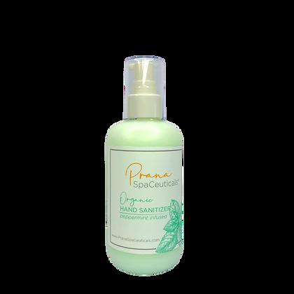 4025-Organic Hand Sanitizer Set 8oz/1bottle -- 1oz/12pack