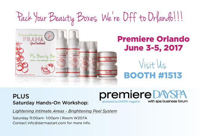 Dermastart, INC ClearChoice® + Prana SpaCeuticals  Attends Premier Day Spa Show In Orlando