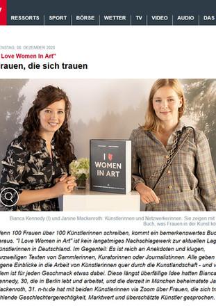 n-tv – Interview mit Juliane Rohr