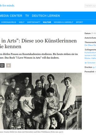 """Deutsche Welle – """"Women in Arts"""": Diese 100 Künstlerinnen sollten Sie kennen"""