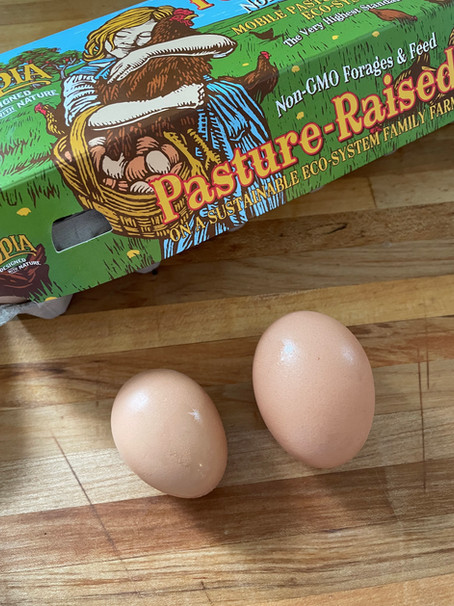 Have You Ever Had a Mini (Pullet) Egg?