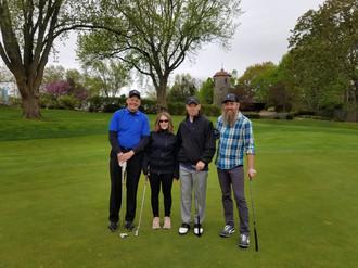 Katya with Title Sponsors Husch Blackwell and JA & Company