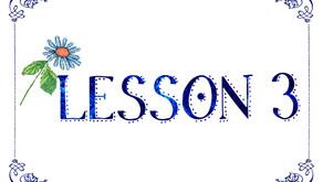Lesson 3 - How Do You Do...odle?