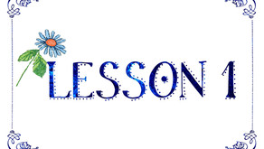 Lesson 1 Resources - Laying a Firm Foundation