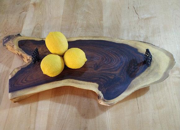 מגש עץ טבעי