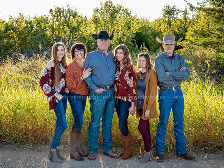 The Orr Family - Family Fall Portraits 2019