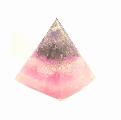 Pink Orgonite - Memorial Art