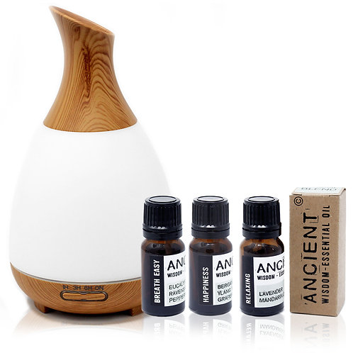 Aroma Diffuser and Essential Oil Blends Kit
