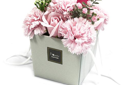 Pink Rose Carnations Soap