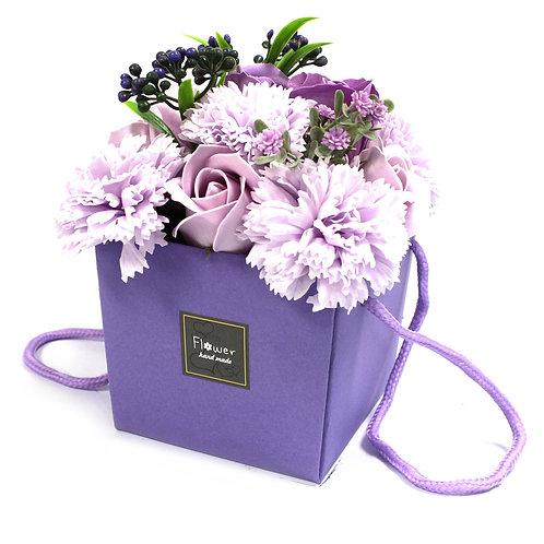 Lavender Rose Carnations Soap