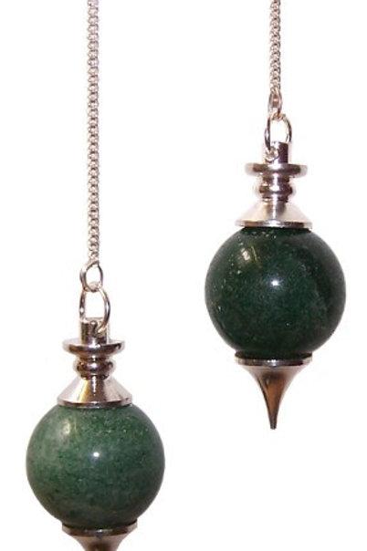 Sphere Pendulums - Green Aventurine