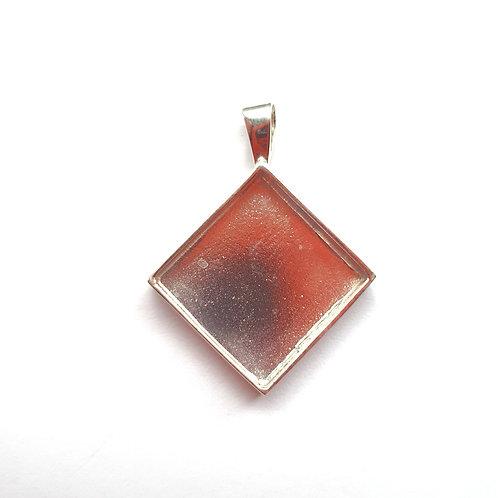 Diamond Silver Pendant for ashes