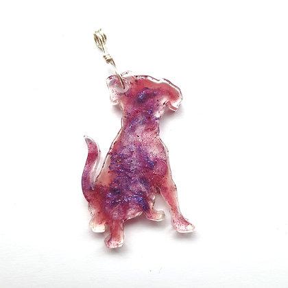 Dog Resin Pendant - Memorial Jewellery