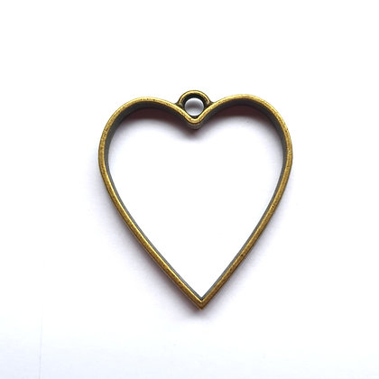 Bronze Heart - Memorial Jewellery
