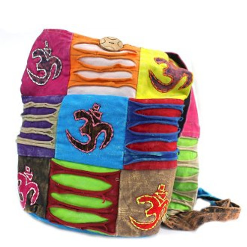 Ethnic Sling Bag - Teal / Om