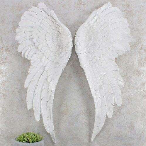 Pair of Large Glitter Angel Wings