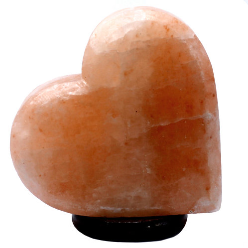 Crafted Salt Lamp - Heart