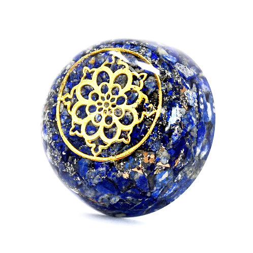 Orgonite Desk Power Packs - Lapis Dome
