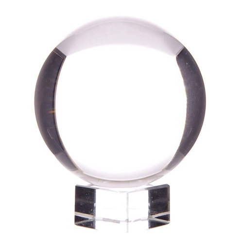 Crystal Ball on Stand 130mm