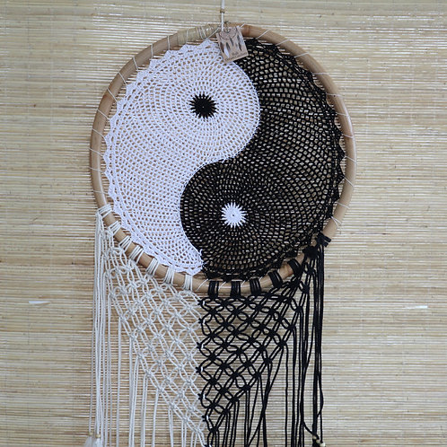Bali Dream Catchers - Extra Large Ying Yang D: 50cm