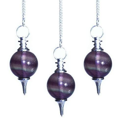 Sphere Pendulums - Purple Fluorite