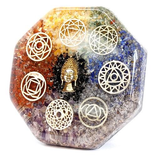 Orgonite Desk Power Packs - Buddha Chakra - Lrg