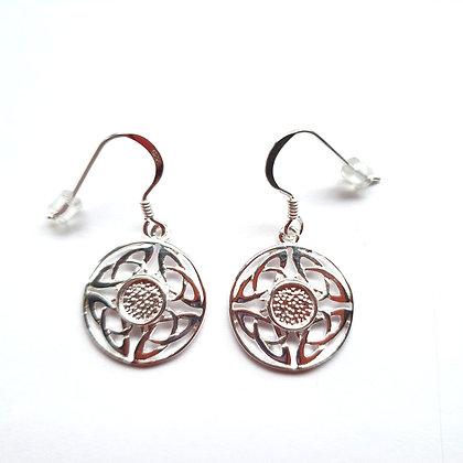 Celtic Earrings - Memorial Jewellery