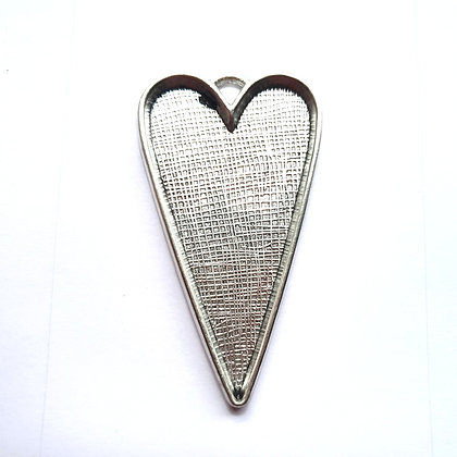 Long Heart - Memorial Jewellery