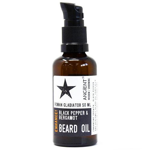50ml Beard Oil - Roman Gladiator - Enhance