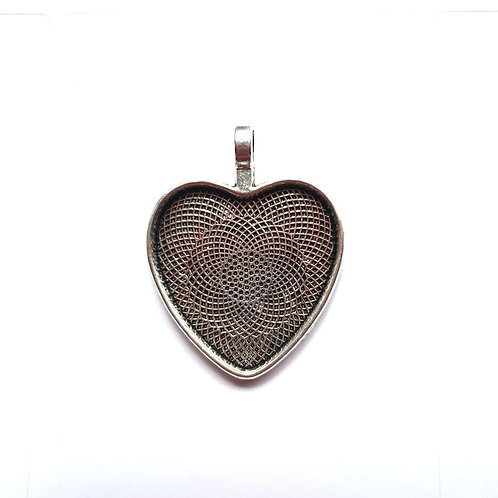Heart Metal Pendant for ashes