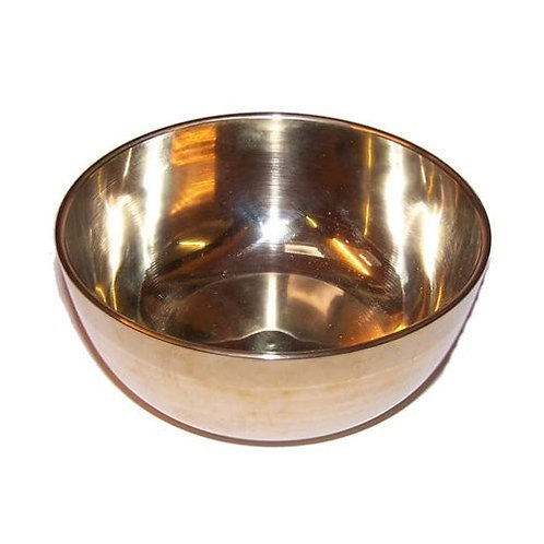 Medium Brass Sing Bowl - 12cm