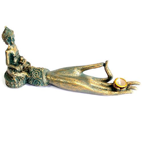Antique Buddha - Hand Incense Burner
