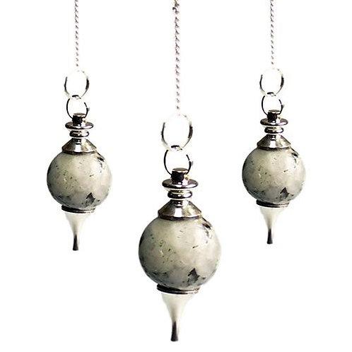 Sphere Pendulums - Rainbow Moonstone
