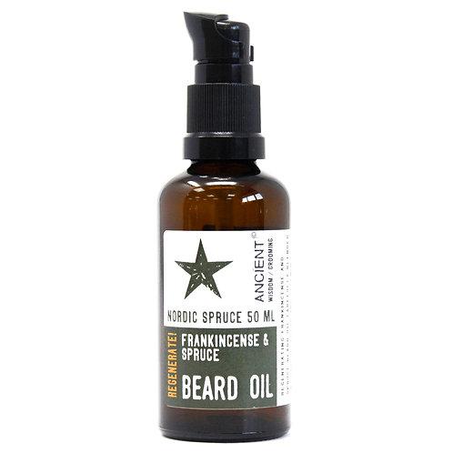 50ml Beard Oil - Nordic Spruce - Regenerate