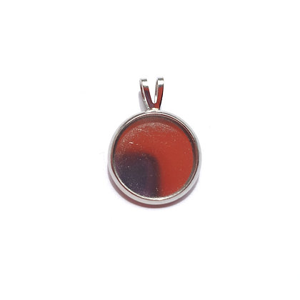 Small Round Pendant - Memorial Jewellery