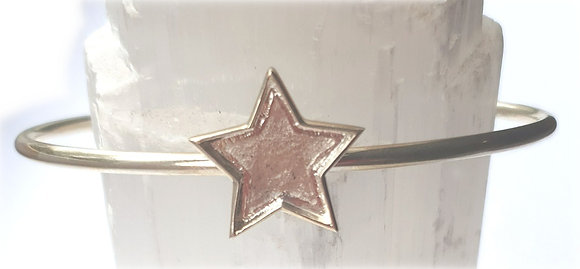 Star Bangle - Memorial Jewellery