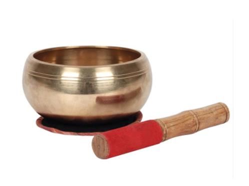11cm Solid Brass Singing Bowl