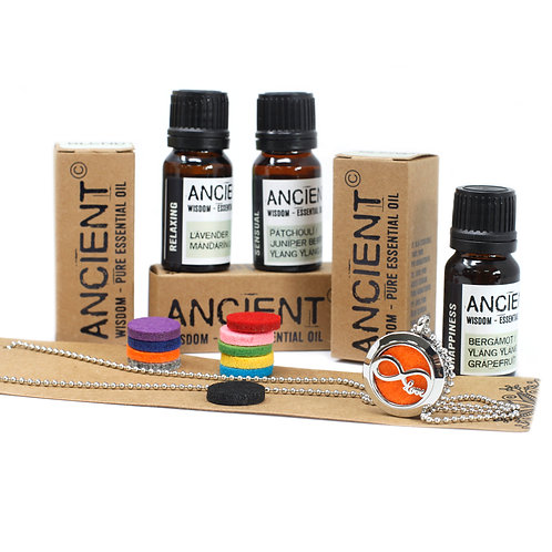 Infinity Love Aroma Necklace Gift Set