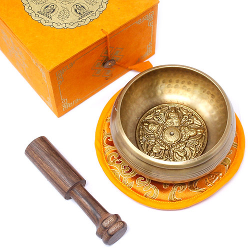 Five Buddha Singing Bowl Set 10cm (min 400gm)