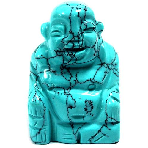 Gemstone Buddha - Turquoise