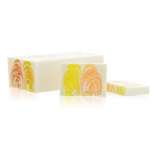Orange & Ginger Handcrafted Soap Loaf