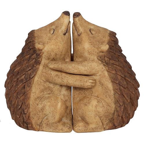 Hedge Hugs Hedgehog Couple Ornament