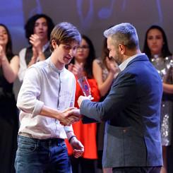 Premiazione Alberto De Cesaro