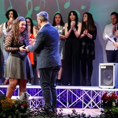 Premiazione Giulia Mazzocato