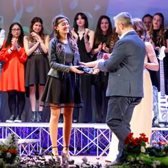 Premiazione Fabiana Mattuzzi