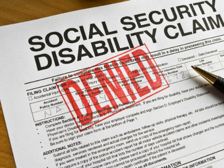 Why Was I Denied For Social Security Disability Benefits?