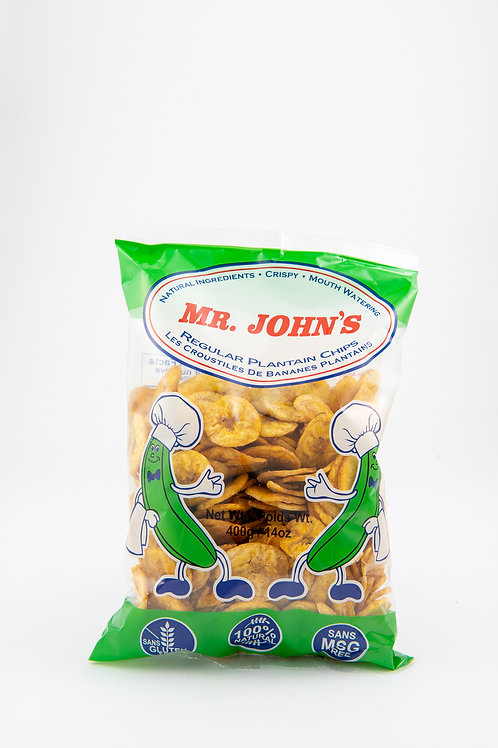 Mr John Regular Plantain Chips - 135g